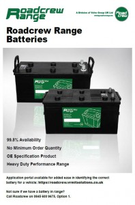 Roadcrew Range Batteries